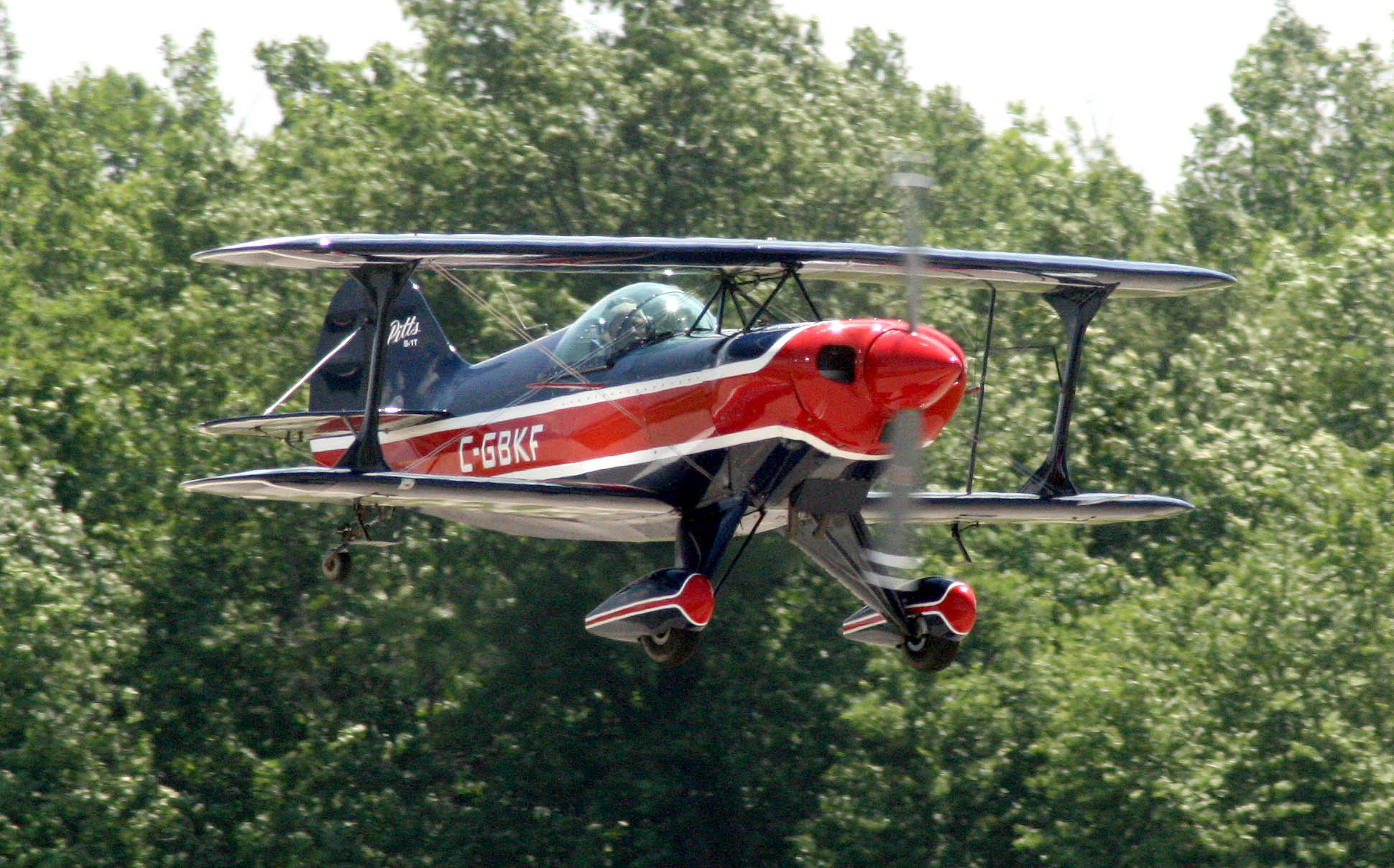 Pitts racer Aerobatic show, Ohio