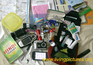 Important travel items....can you remember them alll ?
