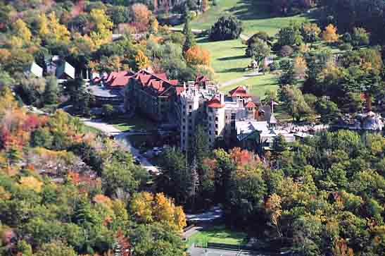 Mohonk Mountain resort, near New Paltz