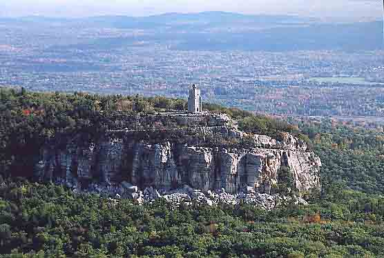 Mohonk Mountain tower, near New Paltz, NY