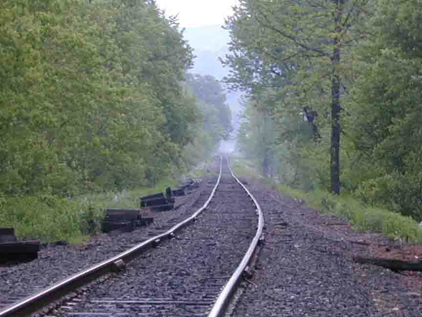 old tracks near Great Barrington, Massachusetts